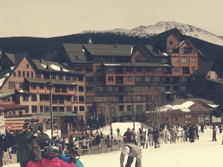 Spending 2 days here skiing