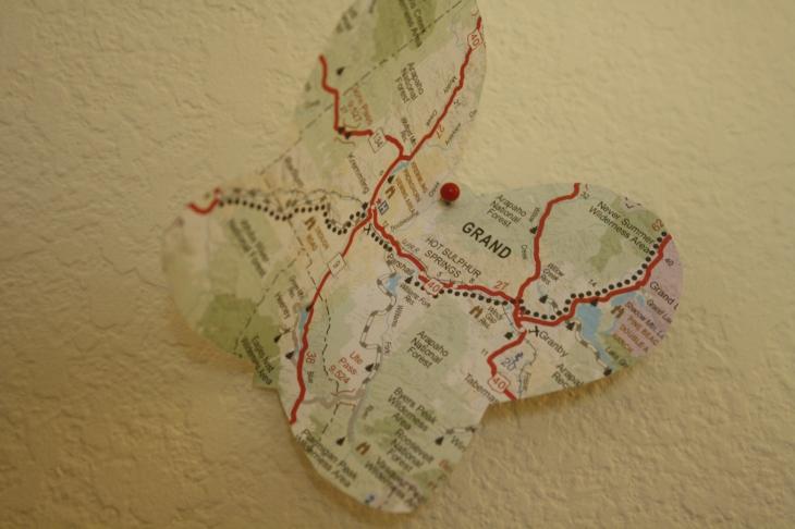 Map 3-D Butterfly