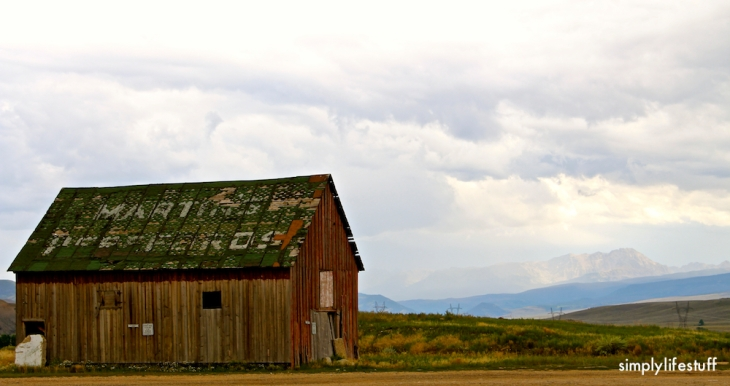 old barn, Colorado